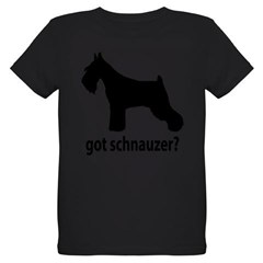 Got Schnauzer? Organic Kids T-Shirt (dark)