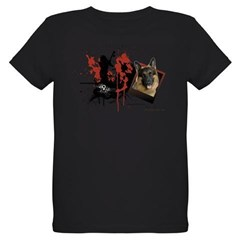 German Shepherd Organic Kids T-Shirt (dark)