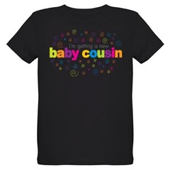 baby cousin Organic Kids T-Shirt (dark)