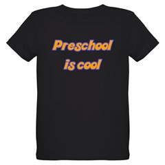 Preschool is cool - Organic Kids T-Shirt (dark)
