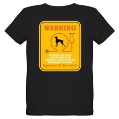 Vizsla Organic Kids T-Shirt (dark)