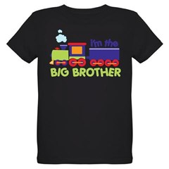 train big brother t-shirts Organic Kids T-Shirt (dark)