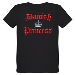 Danish Princess Organic Kids T-Shirt (dark)