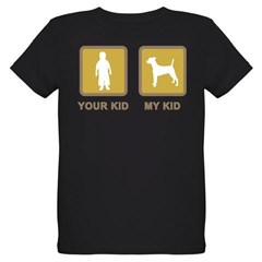 Smooth Fox Terrier Organic Kids T-Shirt (dark)