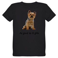 Good Silky Terrier Organic Kids T-Shirt (dark)