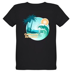 California Dreamin' Organic Kids T-Shirt (dark)