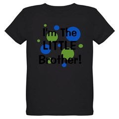 I'm The Little Brother! Organic Kids T-Shirt (dark)