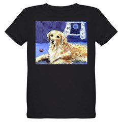 GOLDEN RETRIEVER senses moon Infant Creeper Organic Kids T-Shirt (dark)