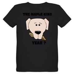 The Maple Kind. Yeah ? Organic Kids T-Shirt (dark)