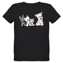 Terrier Time Organic Kids T-Shirt (dark)