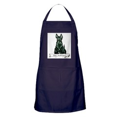 got scotties trans 10x10.png Apron (dark)