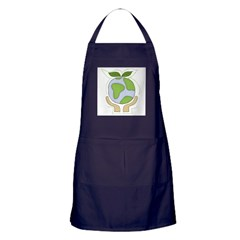 earthfriendhands.png Apron (dark)