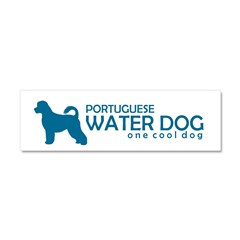 "P. Water Dog ""One Cool Dog"" Car Magnet 10 x 3"