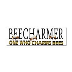 BEECHARMER Car Magnet 10 x 3