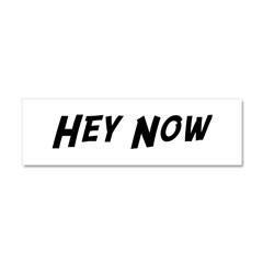 Hey Now Car Magnet 10 x 3