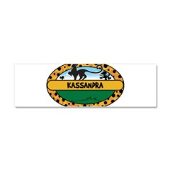 KASSANDRA - safari Car Magnet 10 x 3