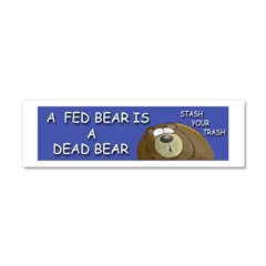 BEAR Car Magnet 10 x 3