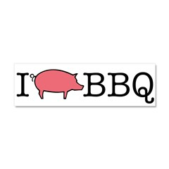 I Cook BBQ Car Magnet 10 x 3