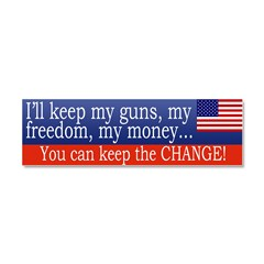 Keep the Change Car Magnet 10 x 3