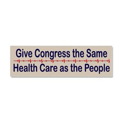 Give Congress Healthcare Car Magnet 10 x 3