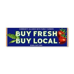 Buy Fresh Buy Local classic Car Magnet 10 x 3