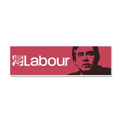 Gordon Brown Labour Party Car Magnet 10 x 3