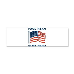 Paul Ryan is my Hero! Car Magnet 10 x 3