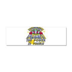 Captain Planet Power Car Magnet 10 x 3