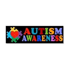 Autism Awareness Car Magnet 10 x 3
