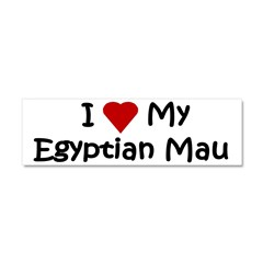 Egyptian Mau Car Magnet 10 x 3