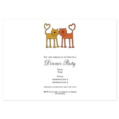 Love Cats 5x7 Flat Cards