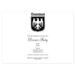 Germany Soccer - 5x7 Flat Cards