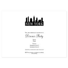 New York Skyline 5x7 Flat Cards