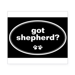 Got Shepherd? Oval Beer Label