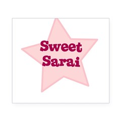 Sweet Sarai Oval Beer Label