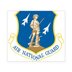 Air National Guard Rectangle Beer Label