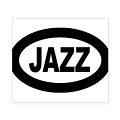 Jazz Car Oval Beer Label