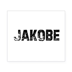 Jakobe Rectangle Beer Label