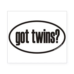 got twins? Euro Oval Beer Label