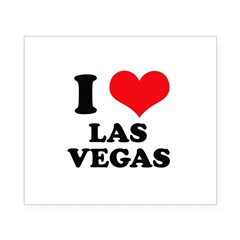 I Heart Las Vegas Rectangle Beer Label