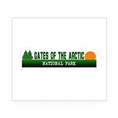 Gates of the Arctic National Sticker (Rectangular Beer Label