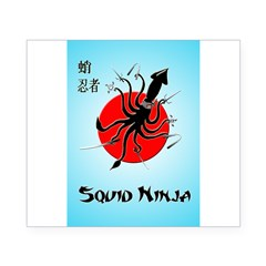 Squid Ninja Beer Label