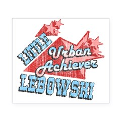 Lebowski Urban Achiever Rectangle Beer Label