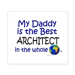 Best Architect In The World (Daddy) Beer Label