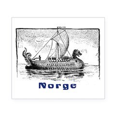 NORGE Rectangle Beer Label