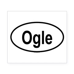 OGLE Oval Beer Label