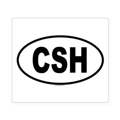 CSH Oval Beer Label