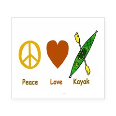 Peace,Luv,Kayak Beer Label