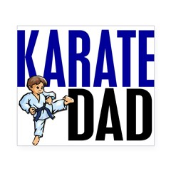 Karate Dad (OF BOY) 3 Rectangle Beer Label