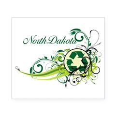 North Dakota Recycle T-Shirts and Gift Beer Label